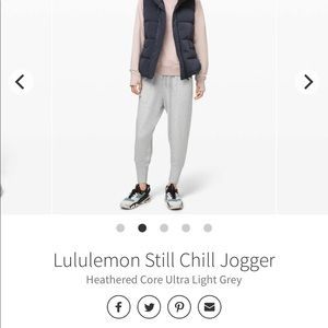 STILL CHILL JOGGER SLOUCHY (oversized) FIT!